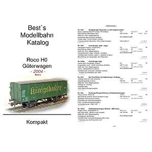 Best`s Modellbahn Katalog Roco H0 Güterwagen kompakt 2004 [Taschenbuch]