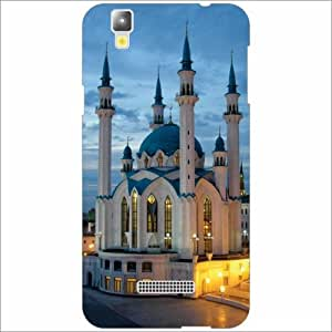 Yureka Plus Back Cover - Silicon Mosque Designer Cases