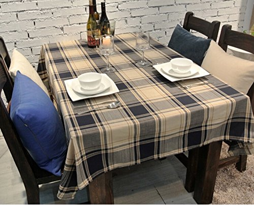 Merveilleux British Style American Country Style Cotton And Linen Plaid Tablecloth/table  Cloth/Table Linen