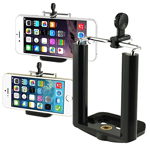 Insten Camera Stand Clip Bracket Holder Monopod Tripod Mount Adapter For Cell phone For iPhone 7/ 7 Plus/ 6S/ 6S Plus, Galaxy S7 Edge/ S7