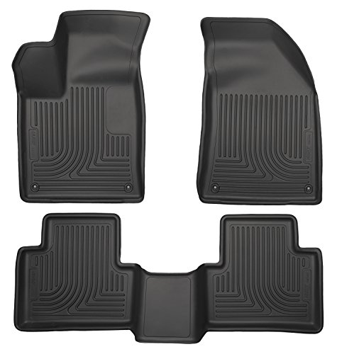GGBAILEY D3267A-F1A-BK-LP Custom Fit Car Mats for 2002 2004 Ford Focus Wagon Black Loop Driver /& Passenger Floor 2003