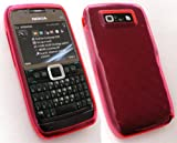 EMARTBUY NOKIA E71 GEL CASE/COVER/SKIN HOT PINK