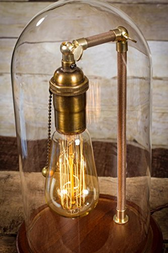 edison bulb desk lamp table lamp edison bulb dome lamp vintage antique desk lamp industrial brass