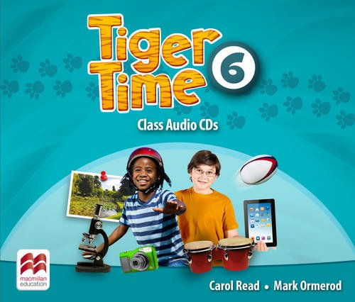 Tiger Time Level 6 Audio CD