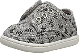 Toms Paseos Grey Canvas Skulls 10006282 Tiny 8