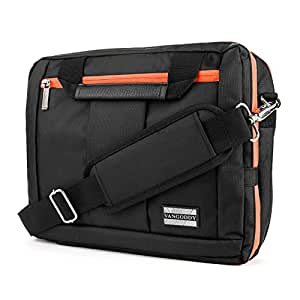 """VangoddyTM El Prado Collection 3 in 1 Backpack and Messenger Bag for Nokia Lumia 2520 10.1"""" Tablet  Orange  available at Amazon for Rs.5583"""
