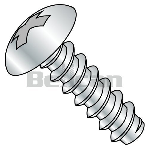1//2 Length Type B Hex Washer Head Small Parts 1408BW Steel Sheet Metal Screw 1//4-14 Thread Size Hex Drive Pack of 3000 Pack of 3000 1//4-14 Thread Size 1//2 Length Zinc Plated