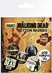 GB eye The Walking Dead Badge Pack