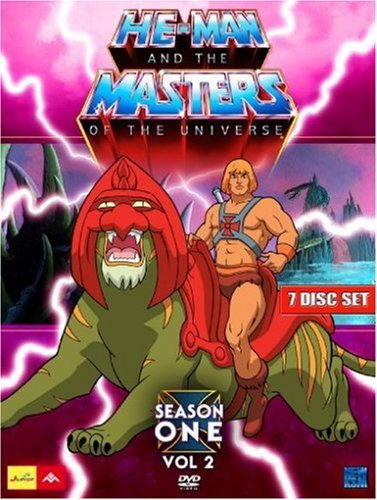 He-Man and the Masters of the Universe - Season 1, Volume 2 (Episode 34-65) (7 Disc Set)