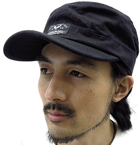 (アルファ インダストリーズ) ALPHA INDUSTRIES INC キャップ メンズ 帽子 ストリート ワークキャップ 3color Free ブラック -