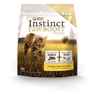 Instinct Raw Boost Grain-Free Chicken Meal Formula Dry Cat Food