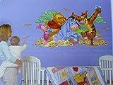 Mural in Minutes! Disney Baby. Winnie the Pooh, Eeyore, Piglet & Tigger.