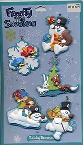 Frosty The Snowman Set of 5 Mini Ornaments