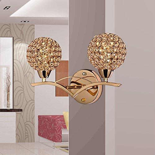 Creative cristal personnalisé mur mur mur de vie minimaliste de chambre à coucher