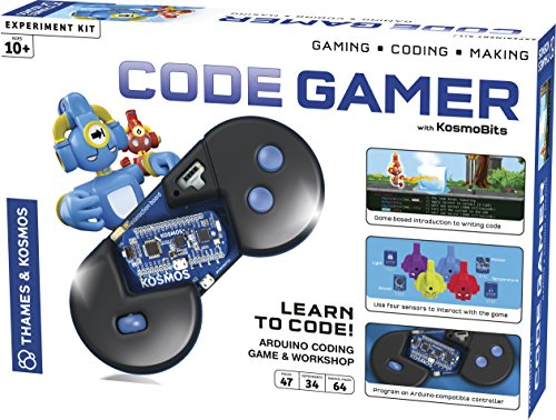 Thames & Kosmos Code Gamer Coding Workshop and Game (iOS and Android Compatible)