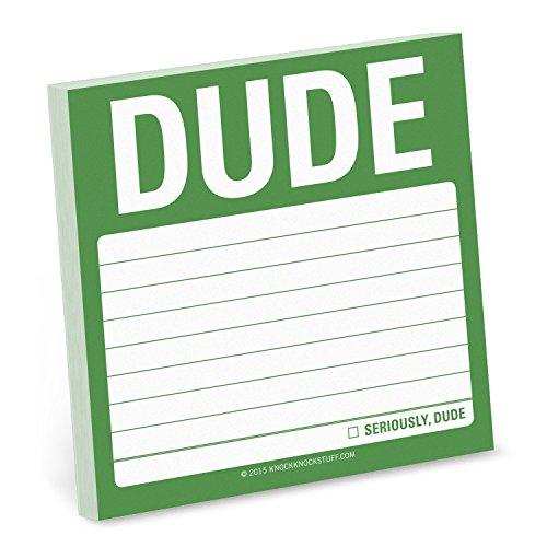 Knock Knock Dude Sticky Note PDF