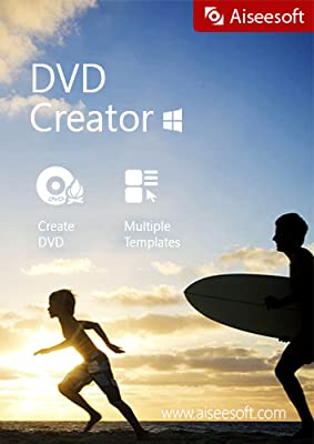 Aiseesoft DVD Creator - Burn your own video to a DVD disc or turn it to DVD folder or ISO file with customizable menu, audio track and subtitle [Download]