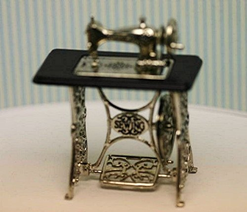 SALE!!! Miniature Vintage Look Sewing Machine with Moving Needle