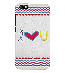 PrintDhaba Quote D-4825 Back Case Cover for HUAWEI HONOR 4X (Multi-Coloured)