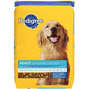 Pedigree Complete Nutrition dry dog food for Adult Dogs, 17lb