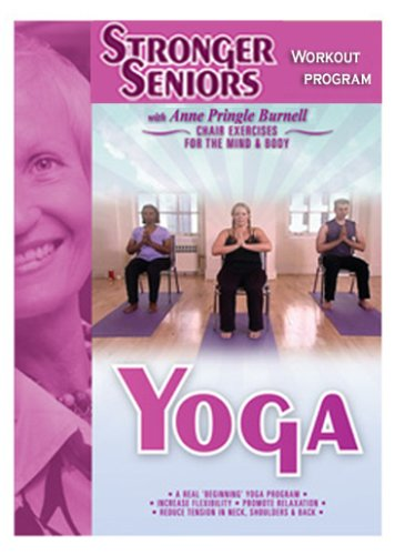 Chair Yoga Program - Enjoy the benefits of Yoga in a safe, gentle program. Increase flexibility, range of motion, and core strength. No pretzel poses or getting on the floor