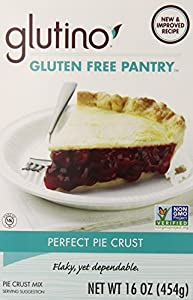 Glutino Gluten Free Pantry Perfect Pie Crust Mix, 16 Ounce