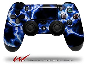 Electrify Blue - Decal Style Wrap Skin fits Sony PS4 Dualshock 4 Controller - CONTROLLER NOT INCLUDED