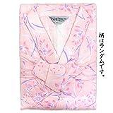 婦人用 和ざらし 染め 二重ガーゼ お寝巻き 介護 日本製 綿100% パジャマ ねまき