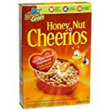 Cheerios Honey Nut, 12.25-Ounce Boxes (Pack of 4) ~ General Mills Cereals