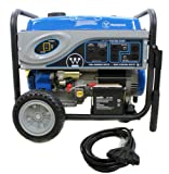 NEW Westinghouse Portable Gas Power Generators w One Touch Electric System Picture