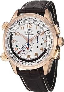 Zenith Men's 1824004046.01C Pilot Analog Display Swiss Automatic Brown Watch