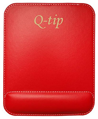 personalized-leatherette-mouse-pad-with-text-q-tip-first-name-surname-nickname