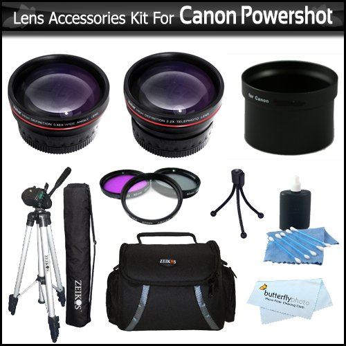 62mm Filter Kit UV, CPL, FLD for Select Pentax Digital Cameras Lens Hood /& Close-Up Macro Filter Set Bundle Includes: Lens Cleaning Pen Lens Cap Keeper /& UltraPro Lens Cleaning Kit +1 +2 +4 +10