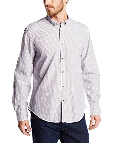 Springfield Camisa Hombre Pinpoint Stripes