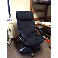 Realspace BTEC 820 Executive Fabric High-Back Chair