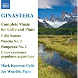 Ginastera: Complete Music for Cello and Piano