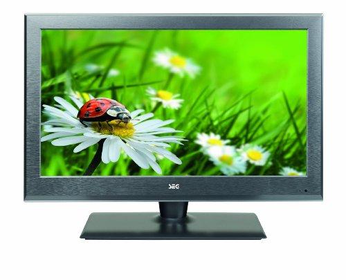 SEG Arcos-A 66 cm (26 Zoll) LED-Backlight-Fernseher, Energieeffizenzklasse A (Full HD, 50Hz, DVB-C/-T/-S2) matt stahl