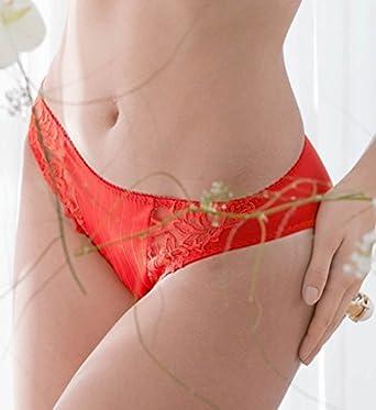 SLIP BRESILIEN DEAUVILLE - PRIMA DONNA - Femme - Couleur : rouge - Taille : 44
