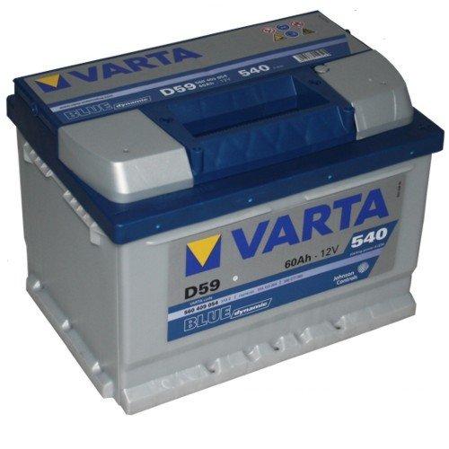 VARTA D59 Blue Dynamic / Autobatterie / Batterie
