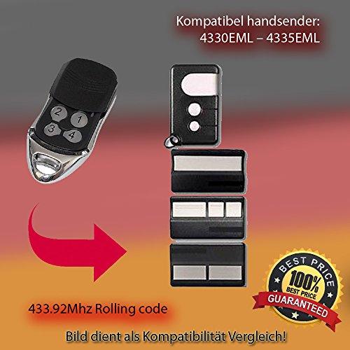 handsender mhz f r 4330eml 4335eml antriebe. Black Bedroom Furniture Sets. Home Design Ideas
