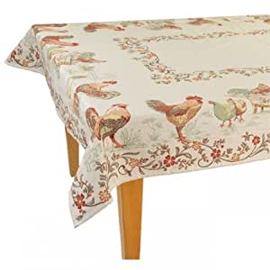 Amazon.com - La Ferme French Provence Rectangle Cotton