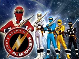 Power Rangers Alien Rangers Season 1