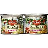 Del Monte Lite Fruit Cups, 6 Pound