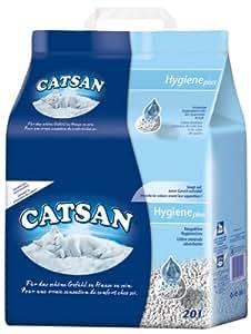 Catsan Hygiène+ Litière pour Chat 20 L