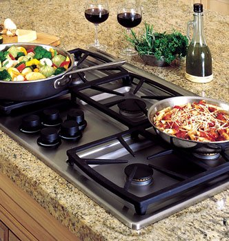 Dacor Preference Series 30 inch Black Gas Cooktop - SGM304B