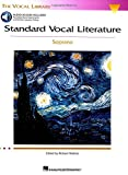 Standard Vocal Literature - An Introduction to Repertoire: Soprano (Vocal Library) (0634078739) by Walters, Richard