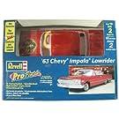 63 Impala LowRider ProFinish(RED) 1963 インパラ ローライダー プロフィニッシュ レッド Revell 85-1644 1:25スケール Chevrolet プラ