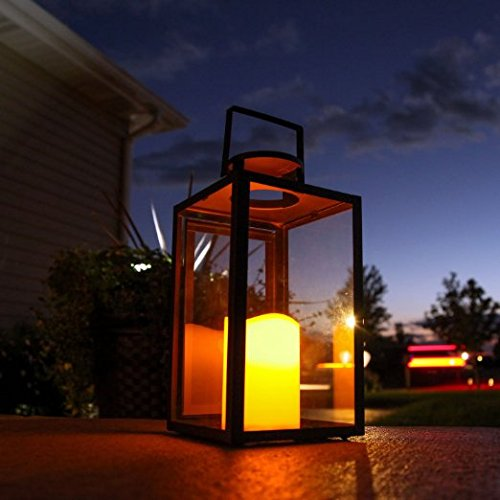 Black-Glass-Outoor-Battery-Lanterns