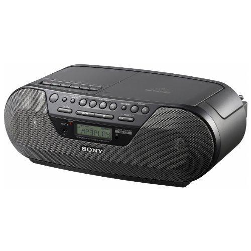 Sony Radio CD MP3 Cassette Stereo Boombox w/ Remote