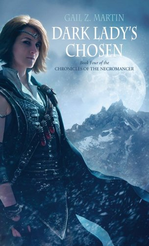 Cover of Dark Lady's Chosen (Chronicles of the Necromancer, Book 4)